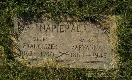 NAPIERALA, FRANCISZEK - Lucas County, Ohio | FRANCISZEK NAPIERALA - Ohio Gravestone Photos