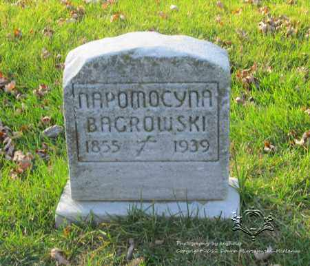 BAGROWSKI, NAPOMOCYNA - Lucas County, Ohio | NAPOMOCYNA BAGROWSKI - Ohio Gravestone Photos