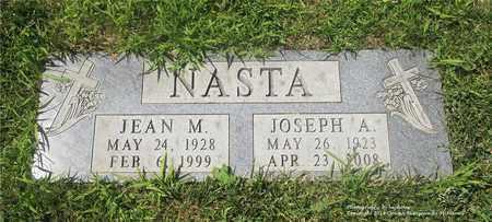 NASTA, JEAN M. - Lucas County, Ohio | JEAN M. NASTA - Ohio Gravestone Photos