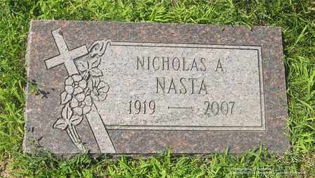 NASTA, NICHOLAS A. - Lucas County, Ohio | NICHOLAS A. NASTA - Ohio Gravestone Photos