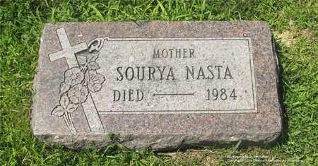 NASTA, SOURYA - Lucas County, Ohio | SOURYA NASTA - Ohio Gravestone Photos