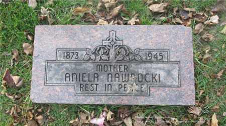 LEWANDOWSKI NAWROCKI, ANIELA - Lucas County, Ohio | ANIELA LEWANDOWSKI NAWROCKI - Ohio Gravestone Photos