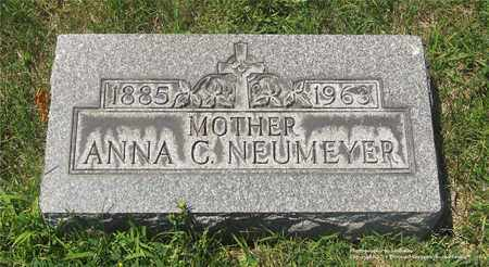 NEUMEYER, ANNA C. - Lucas County, Ohio | ANNA C. NEUMEYER - Ohio Gravestone Photos