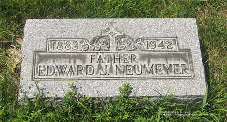 NEUMEYER, EDWARD J. - Lucas County, Ohio | EDWARD J. NEUMEYER - Ohio Gravestone Photos