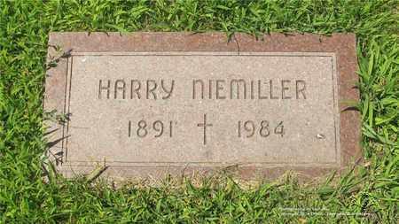 NIEMILLER, HARRY - Lucas County, Ohio | HARRY NIEMILLER - Ohio Gravestone Photos