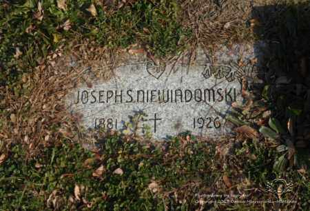 NIEWIADOMSKI, JOSEPH S. - Lucas County, Ohio | JOSEPH S. NIEWIADOMSKI - Ohio Gravestone Photos