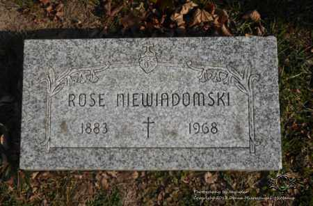 NIEWIADOMSKI, ROSE - Lucas County, Ohio | ROSE NIEWIADOMSKI - Ohio Gravestone Photos