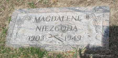 NIEZGODA, MAGDALENE - Lucas County, Ohio | MAGDALENE NIEZGODA - Ohio Gravestone Photos