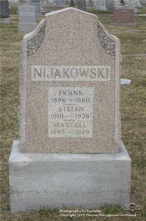 NIJAKOWSKI, MARCELL - Lucas County, Ohio | MARCELL NIJAKOWSKI - Ohio Gravestone Photos
