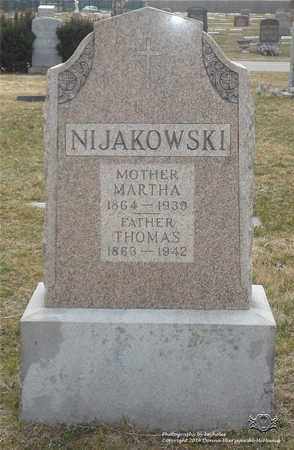 NIJAKOWSKI, THOMAS - Lucas County, Ohio | THOMAS NIJAKOWSKI - Ohio Gravestone Photos