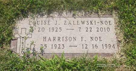NOE, LOUISE J. - Lucas County, Ohio | LOUISE J. NOE - Ohio Gravestone Photos