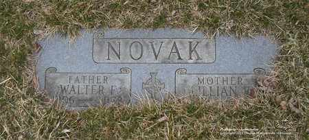 NOVAK, LILLIAN E. - Lucas County, Ohio | LILLIAN E. NOVAK - Ohio Gravestone Photos