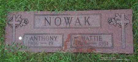 NOWAK, HATTIE - Lucas County, Ohio | HATTIE NOWAK - Ohio Gravestone Photos