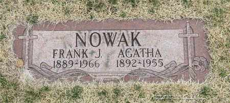NOWAK, AGATHA - Lucas County, Ohio | AGATHA NOWAK - Ohio Gravestone Photos