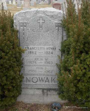 NOWAK, JULIA M. - Lucas County, Ohio | JULIA M. NOWAK - Ohio Gravestone Photos