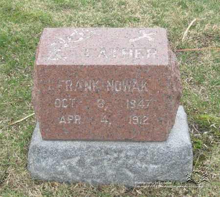 NOWAK, FRANK - Lucas County, Ohio | FRANK NOWAK - Ohio Gravestone Photos