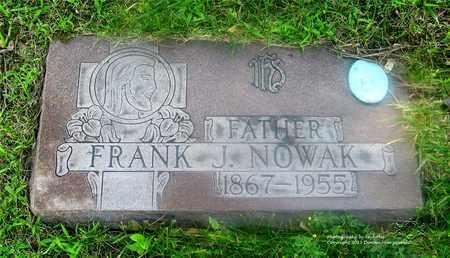 NOWAK, FRANK J. - Lucas County, Ohio | FRANK J. NOWAK - Ohio Gravestone Photos