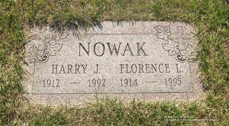 NOWAK, FLORENCE L. - Lucas County, Ohio | FLORENCE L. NOWAK - Ohio Gravestone Photos
