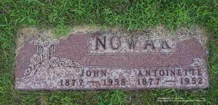 NOWAK, ANTOINETTE - Lucas County, Ohio | ANTOINETTE NOWAK - Ohio Gravestone Photos