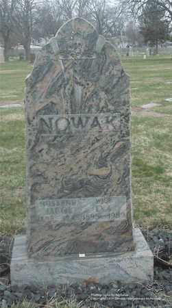 NOWAK, JACOB - Lucas County, Ohio | JACOB NOWAK - Ohio Gravestone Photos