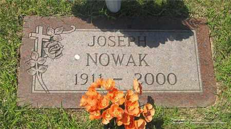 NOWAK, JOSEPH - Lucas County, Ohio | JOSEPH NOWAK - Ohio Gravestone Photos