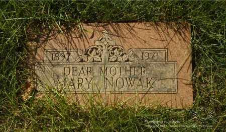 NOWAK, MARY - Lucas County, Ohio | MARY NOWAK - Ohio Gravestone Photos