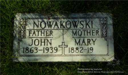 NOWAKOWSKI, MARY - Lucas County, Ohio | MARY NOWAKOWSKI - Ohio Gravestone Photos