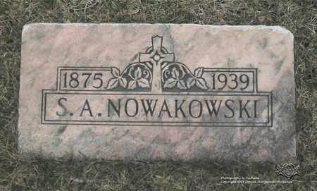 NOWAKOWSKI, STEPHEN A. - Lucas County, Ohio | STEPHEN A. NOWAKOWSKI - Ohio Gravestone Photos