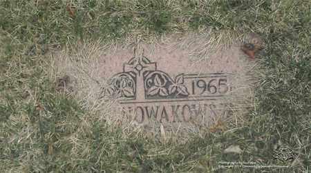 NOWAKOWSKI, STELLA - Lucas County, Ohio | STELLA NOWAKOWSKI - Ohio Gravestone Photos