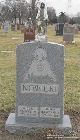 NOWICKI, ANTONI M. - Lucas County, Ohio | ANTONI M. NOWICKI - Ohio Gravestone Photos