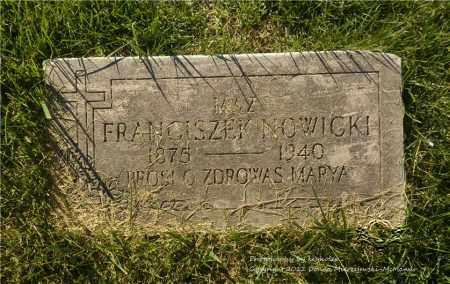 NOWICKI, FRANCISZEK (FRANK) - Lucas County, Ohio | FRANCISZEK (FRANK) NOWICKI - Ohio Gravestone Photos
