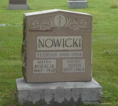 NOWICKI, ROZALIA - Lucas County, Ohio | ROZALIA NOWICKI - Ohio Gravestone Photos