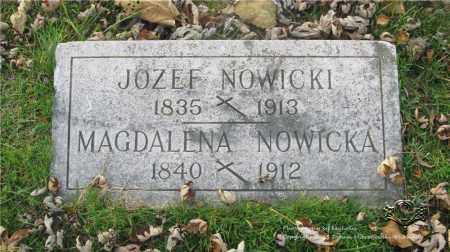 NOWICKI, MAGDALENA - Lucas County, Ohio | MAGDALENA NOWICKI - Ohio Gravestone Photos