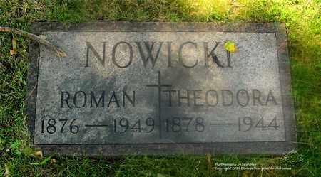 NOWICKI, ROMAN - Lucas County, Ohio | ROMAN NOWICKI - Ohio Gravestone Photos