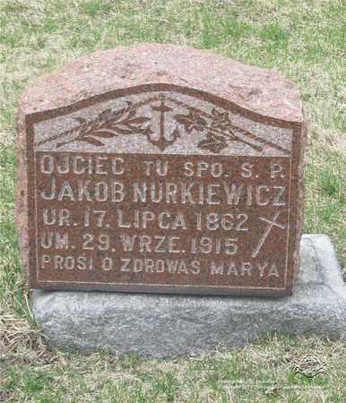 NURKIEWICZ, JAKOB - Lucas County, Ohio | JAKOB NURKIEWICZ - Ohio Gravestone Photos