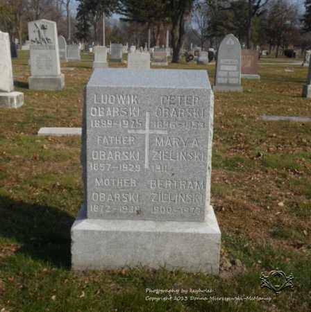 OBARSKI, LUDWIK - Lucas County, Ohio | LUDWIK OBARSKI - Ohio Gravestone Photos