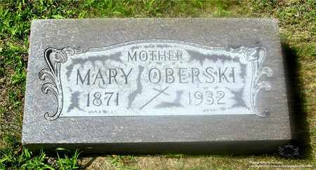 OBERSKI, MARY - Lucas County, Ohio | MARY OBERSKI - Ohio Gravestone Photos