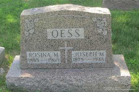 STREIF OESS, ROSINA M. - Lucas County, Ohio | ROSINA M. STREIF OESS - Ohio Gravestone Photos