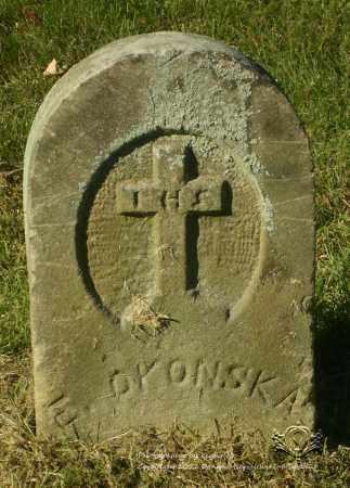 OKONSKA, E - Lucas County, Ohio | E OKONSKA - Ohio Gravestone Photos