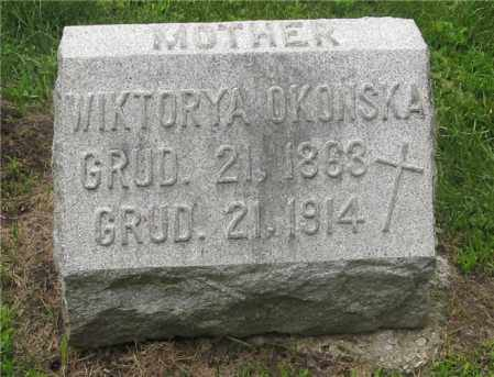 OKONSKA, WIKTORYA - Lucas County, Ohio | WIKTORYA OKONSKA - Ohio Gravestone Photos