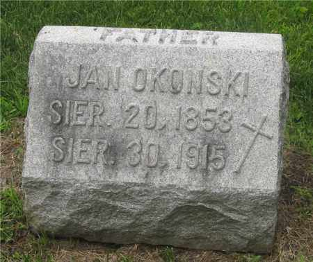OKONSKI, JAN - Lucas County, Ohio | JAN OKONSKI - Ohio Gravestone Photos