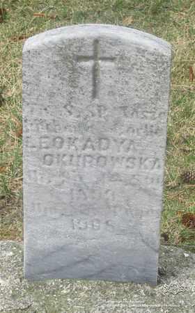 OKUROWSKA, LEOKADYA - Lucas County, Ohio | LEOKADYA OKUROWSKA - Ohio Gravestone Photos