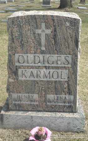 OLDIGES, HENRY - Lucas County, Ohio | HENRY OLDIGES - Ohio Gravestone Photos