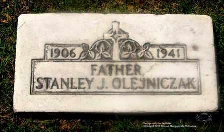 OLEJNICZAK, STANLEY J. - Lucas County, Ohio | STANLEY J. OLEJNICZAK - Ohio Gravestone Photos