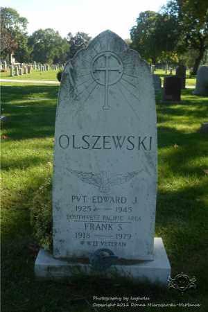 OLSZEWSKI, FRANK S. - Lucas County, Ohio | FRANK S. OLSZEWSKI - Ohio Gravestone Photos