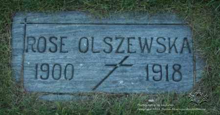 OLSZEWSKA, ROSE - Lucas County, Ohio | ROSE OLSZEWSKA - Ohio Gravestone Photos