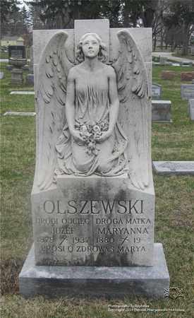 OLSZEWSKI, JOZEF - Lucas County, Ohio | JOZEF OLSZEWSKI - Ohio Gravestone Photos