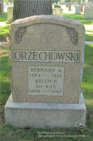 ORZECHOWSKI, BERNARD A. - Lucas County, Ohio | BERNARD A. ORZECHOWSKI - Ohio Gravestone Photos