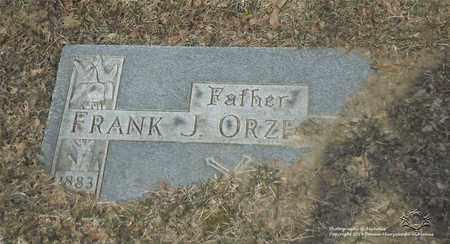 ORZECHOWSKI, FRANK - Lucas County, Ohio | FRANK ORZECHOWSKI - Ohio Gravestone Photos
