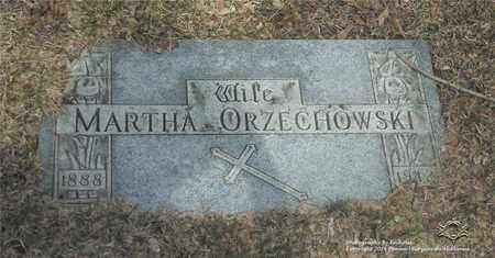 ORZECHOWSKI, MARTHA - Lucas County, Ohio | MARTHA ORZECHOWSKI - Ohio Gravestone Photos